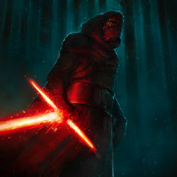 Kylo Ren (fan art) by Stsdklnk