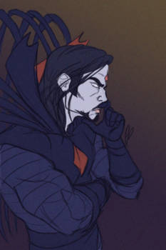 Pensive Minister, Mr Sinister