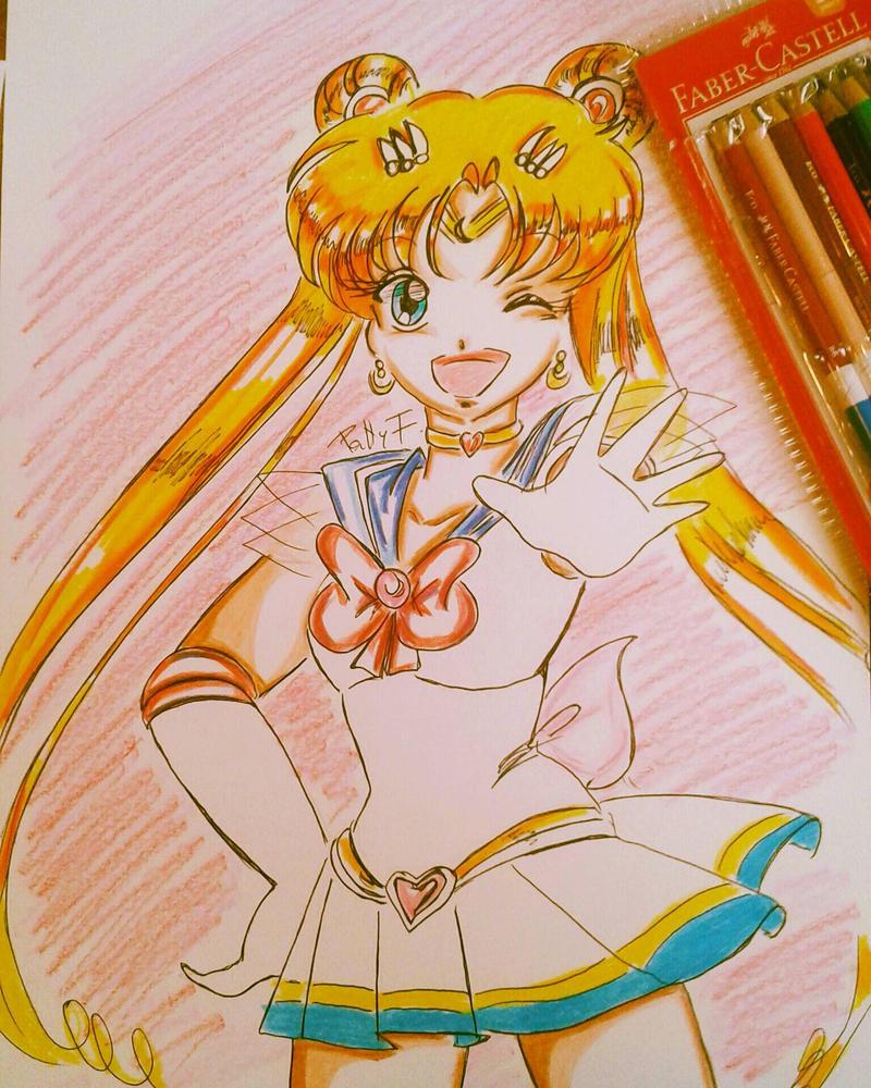 Super Sailormoon by ariesnopatty