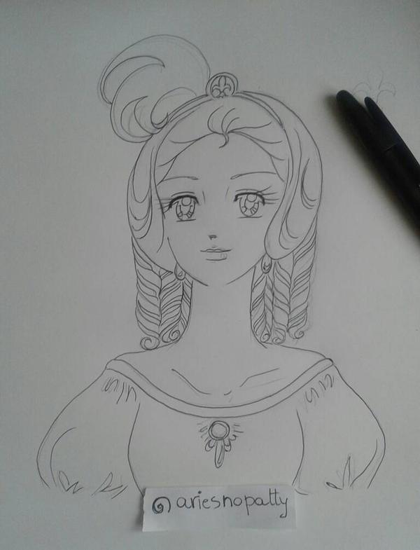 Marie Antoinette-Lady Oscar by ariesnopatty