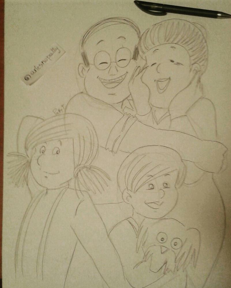 Mezille family by ariesnopatty