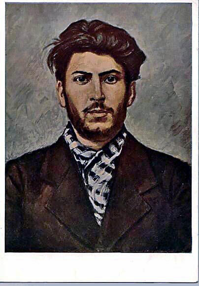 Stalin in young Jears by Stalinlasar
