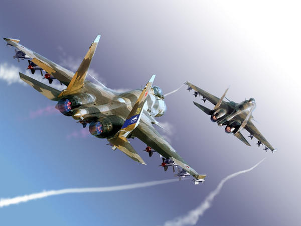 Su-37 The best Aircraft by Stalinlasar