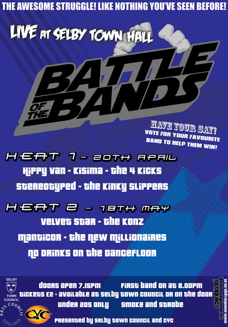 Selby Battle of the Bands Post by Tarka