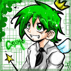 Cosmo in Anime Form by legatosslave