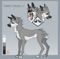 |Daffy| Reference sheet