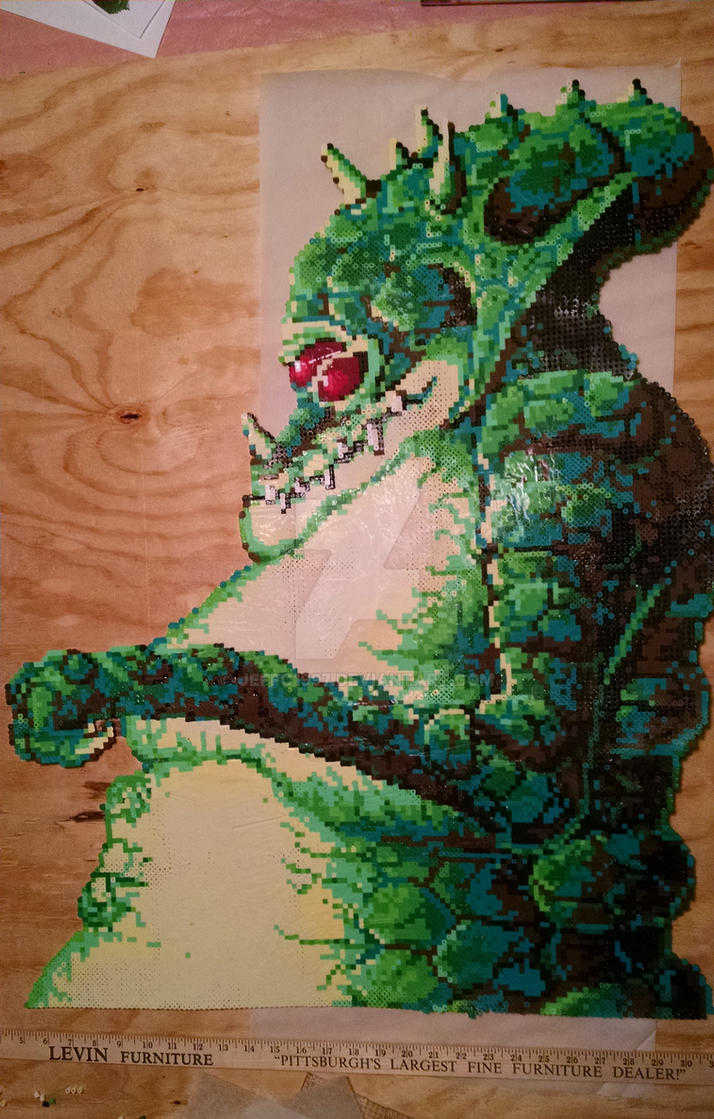Kraid of Perler Beads by Jeffo1997