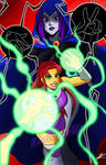 Teen Titans: Starfire and Raven