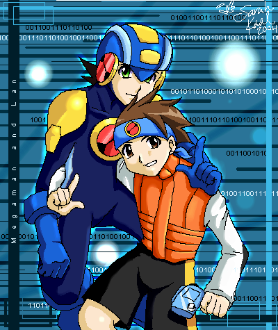 MegaMan NT Warrior by eeveelover