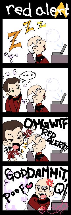 Star Trek: TNG Fan Comic 01 by eeveelover