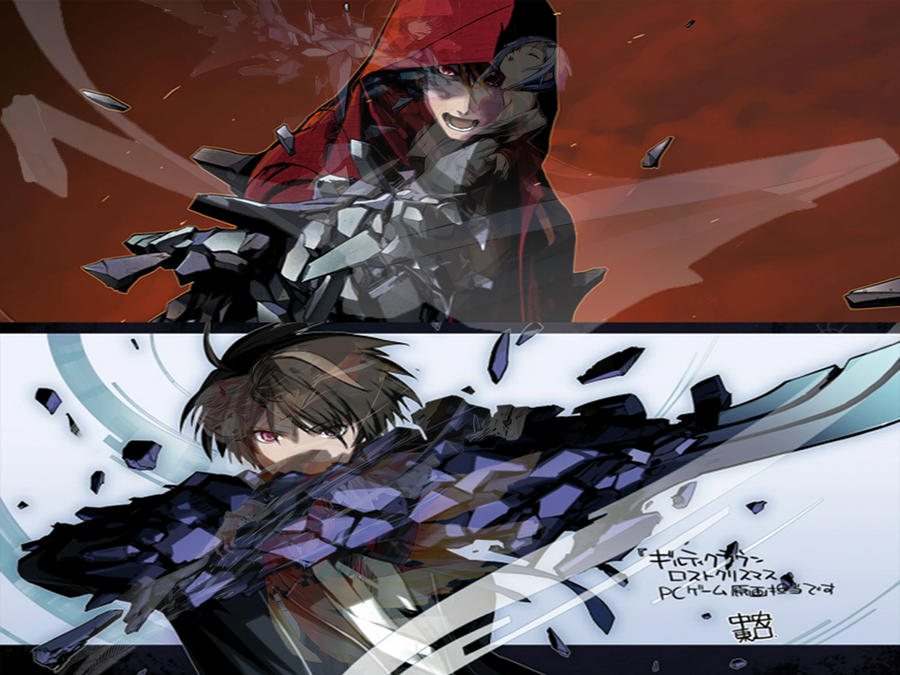 Guilty Crown Lost Christmas and season 1 by ivan424 on DeviantArt