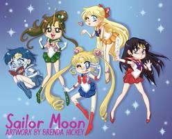 Sailor Senshi by BrendaHickey
