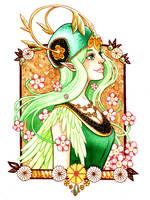 Elf Nouveau by BrendaHickey