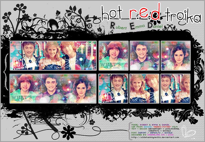 Hot R.E.D Troika by o00khanhlynk00o