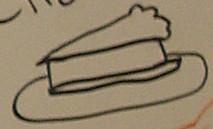 Whiteboard Cheesecake by SonicFan3