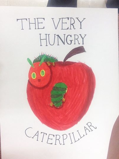 The Very Hungry Caterpillar by SonicFan3