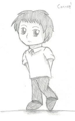 Child!Adachi by SonicFan3