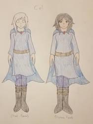 Cel - True + Ilyrana by SonicFan3