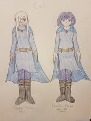 Cel - Jaelryn + Lorelei by SonicFan3