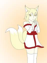 Rei Praying by SonicFan3