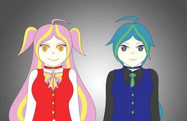 Announcers Malka + Melech by SonicFan3