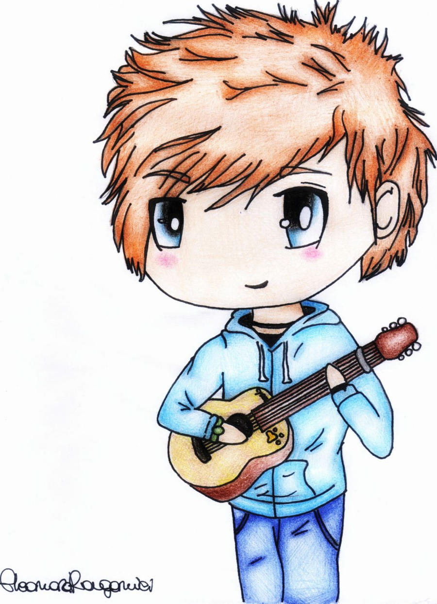 ed Sheeran Cartoon Drawings Like ed Sheeran Drawing by