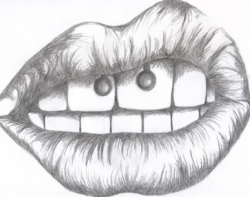 Tumblr Drawings Lips   newhairstylesformen2014.com