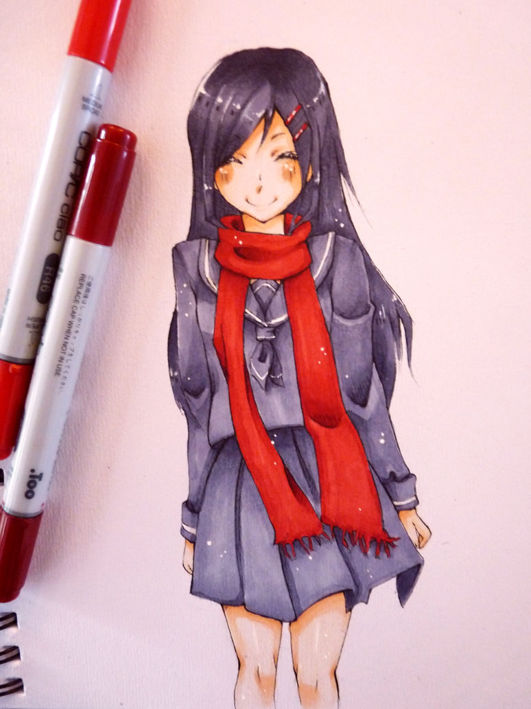 Ayano again by LucatLula