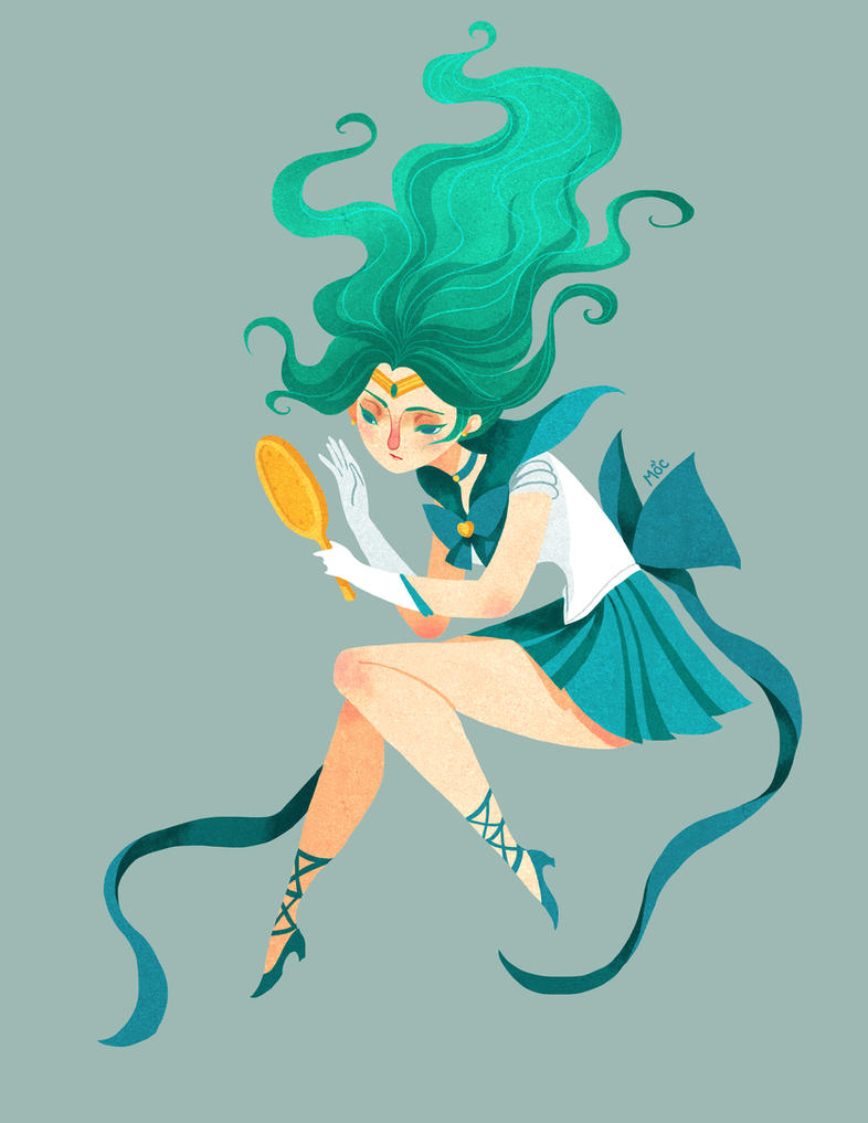 Michiru the Sailor Neptune by Adventure-of-Moc