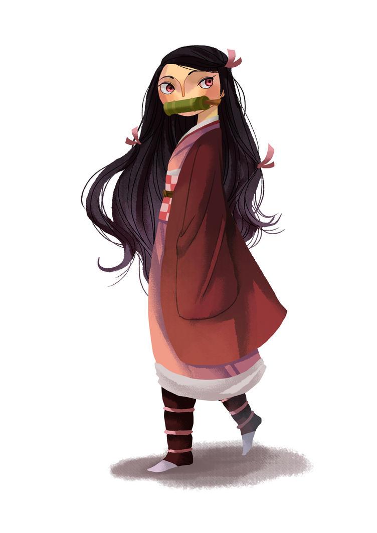 Nezuko by Adventure-of-Moc