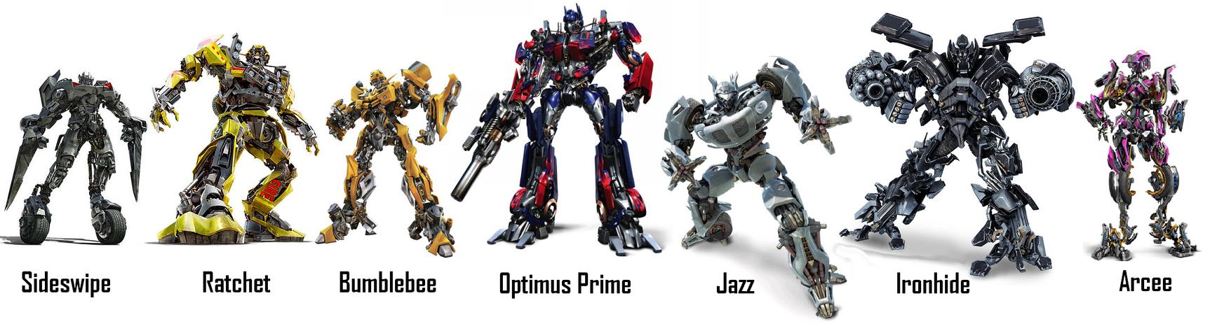My Autobot Team By Skyscream1