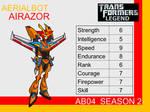 Transformers: Legend AB04 - (Airazor)