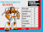 Transformers: Legend P02 - (Blades)