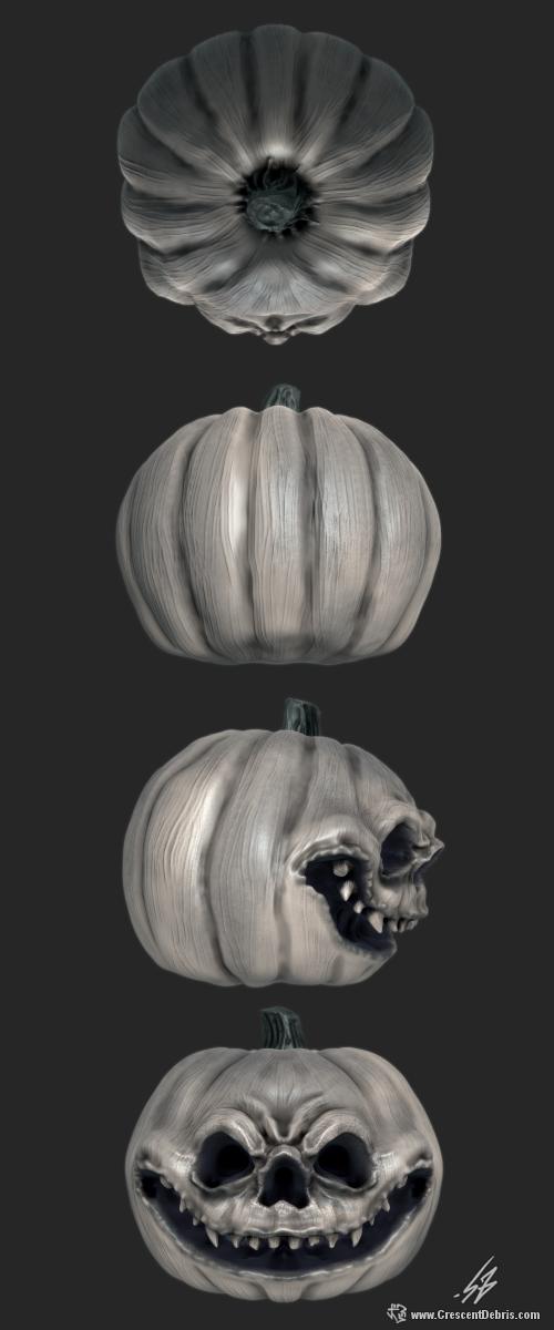 Jack-o-Lantern by CrescentDebris