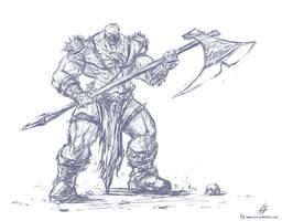 Astaroth Sketch by CrescentDebris