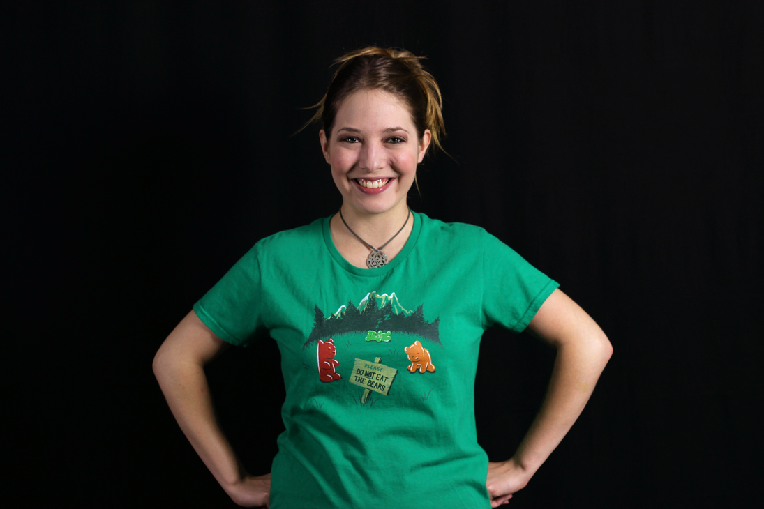 Gummistone Park - Shirt Modeled by CrescentDebris