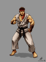 STREET FIGHTER II: Ryu (COLOR)