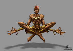 STREET FIGHTER II: Dhalsim (COLOR)