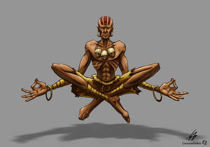 STREET FIGHTER II: Dhalsim (COLOR)