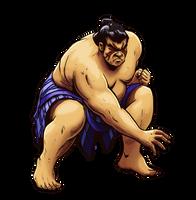 E. Honda (Street Fighter Anniversary FGE Version) by CrescentDebris