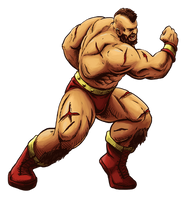 Zangief (Street Fighter Anniversary FGE Version) by CrescentDebris