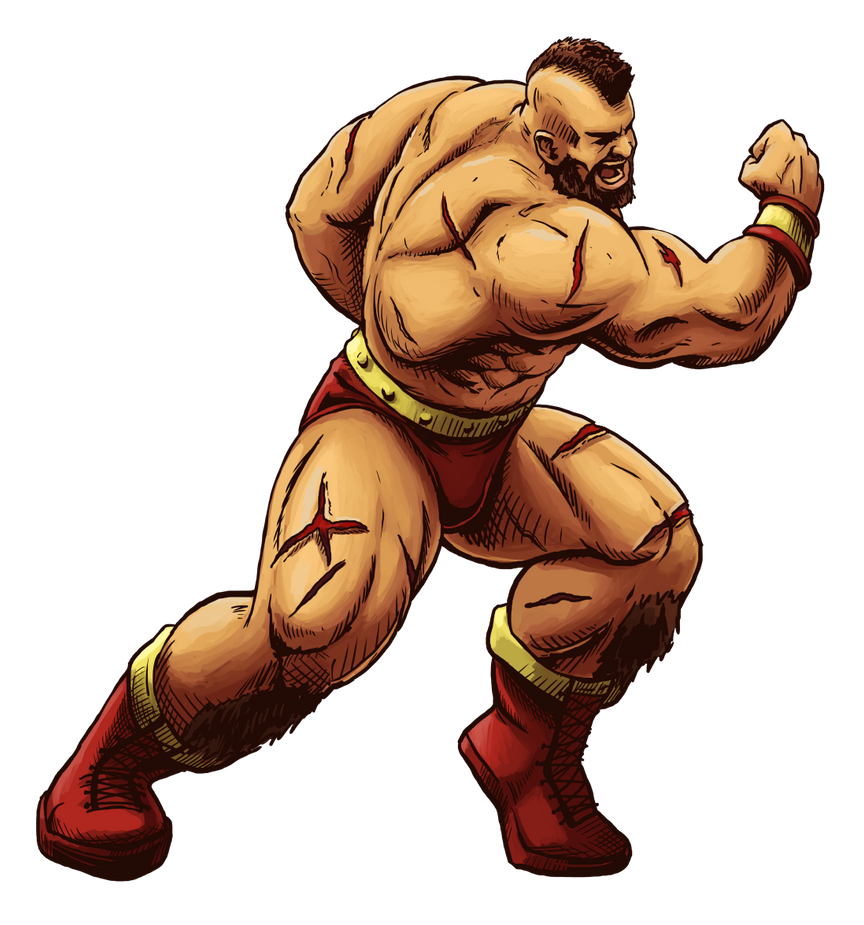 Zangief (Street Fighter Anniversary FGE Version) by CrescentDebris