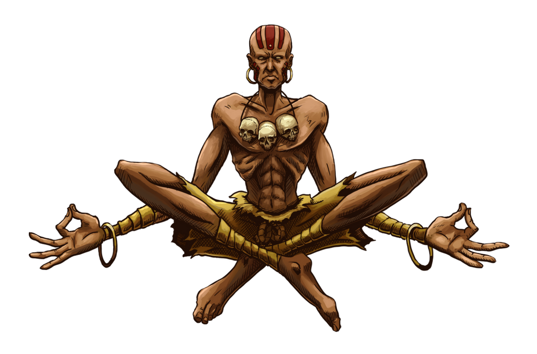 Dhalsim (Street Fighter Anniversary FGE Version) by CrescentDebris