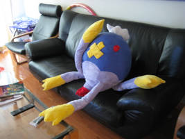 Drifblim Plushie by Shattered-Earth