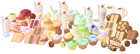 Old Beli Cafe Pixel Food by Shattered-Earth