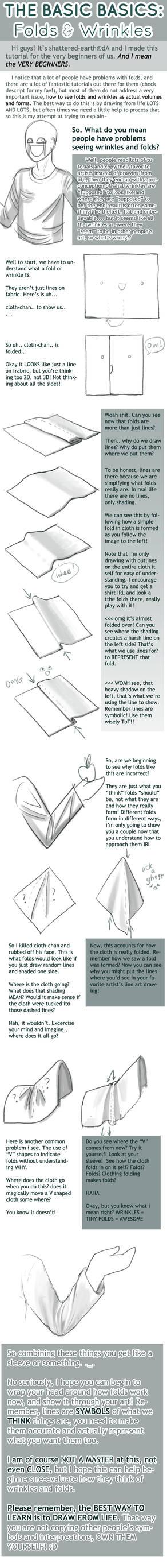 The BASICS : Folds + Wrinkles