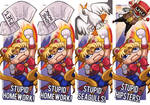 Sailormoon Punch Bookmarks