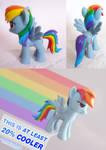 Show Accurate Rainbow Dash Hair