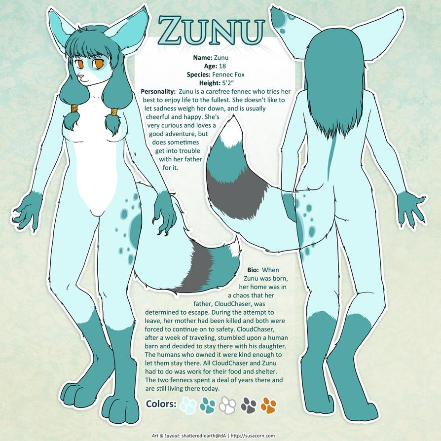 Zunu Ref Sheet By Shattered Earth On Deviantart