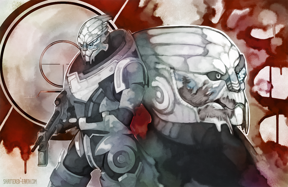 Garrus Vakarian (MY HUSBANDO) by Shattered-Earth